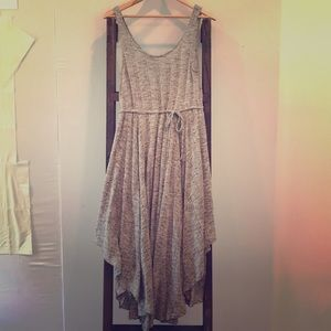 Free People Asymmetrical Midi Dress